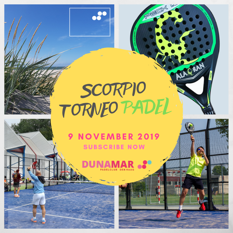 Scorpio Torneo Padel